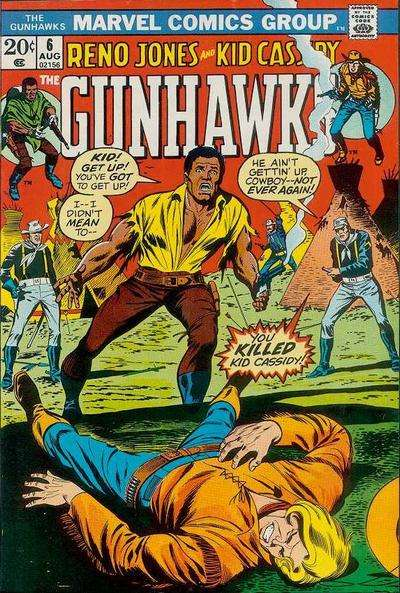 Gunhawks #6 comic books for sale