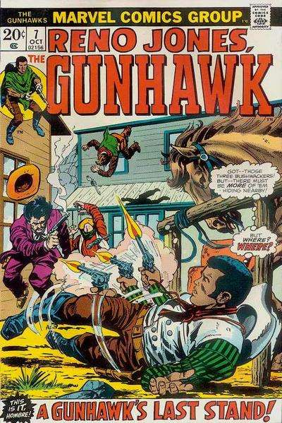 Gunhawks #7 comic books for sale
