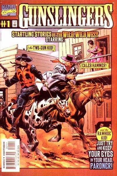 Gunslingers #1 comic books - cover scans photos Gunslingers #1 comic books - covers, picture gallery