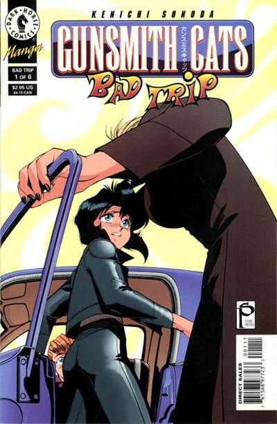 Gunsmith Cats: Bad Trip comic books