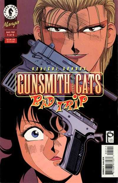 Gunsmith Cats: Bad Trip #5 comic books for sale