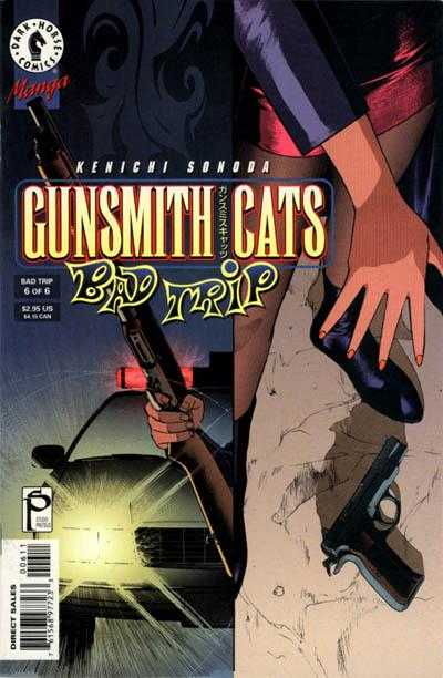 Gunsmith Cats: Bad Trip #6 comic books for sale