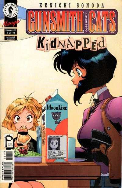 Gunsmith Cats: Kidnapped #1 Comic Books - Covers, Scans, Photos  in Gunsmith Cats: Kidnapped Comic Books - Covers, Scans, Gallery