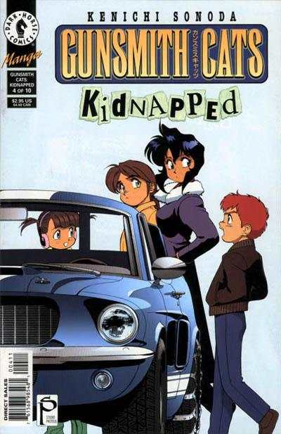 Gunsmith Cats: Kidnapped #4 Comic Books - Covers, Scans, Photos  in Gunsmith Cats: Kidnapped Comic Books - Covers, Scans, Gallery