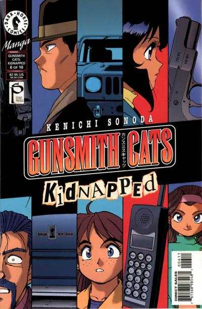 Gunsmith Cats: Kidnapped #6 Comic Books - Covers, Scans, Photos  in Gunsmith Cats: Kidnapped Comic Books - Covers, Scans, Gallery