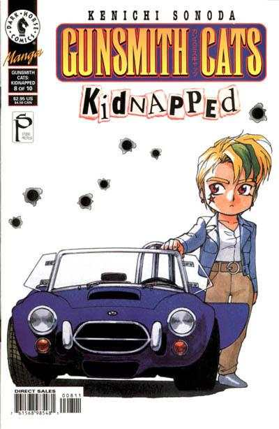 Gunsmith Cats: Kidnapped #8 Comic Books - Covers, Scans, Photos  in Gunsmith Cats: Kidnapped Comic Books - Covers, Scans, Gallery