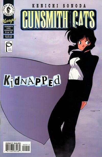Gunsmith Cats: Kidnapped #9 Comic Books - Covers, Scans, Photos  in Gunsmith Cats: Kidnapped Comic Books - Covers, Scans, Gallery