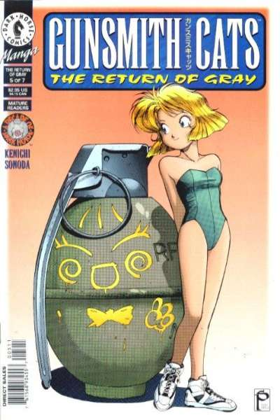 Gunsmith Cats: The Return of Gray #5 comic books for sale