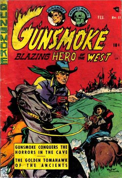 Gunsmoke #11 comic books - cover scans photos Gunsmoke #11 comic books - covers, picture gallery