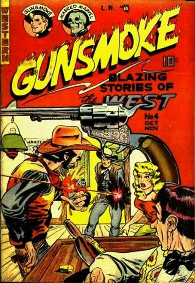 Gunsmoke #4 comic books for sale