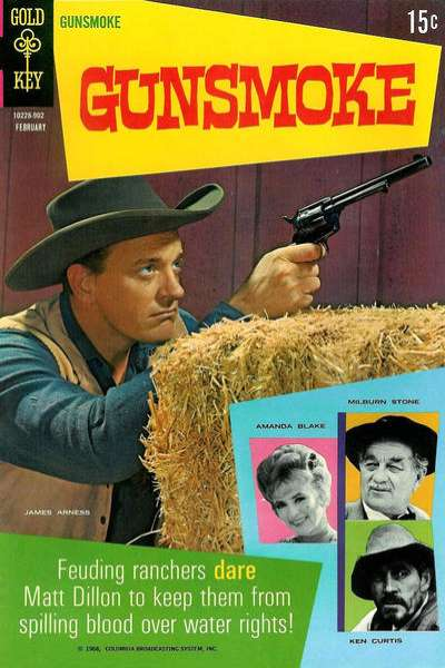 Gunsmoke Comic Books. Gunsmoke Comics.