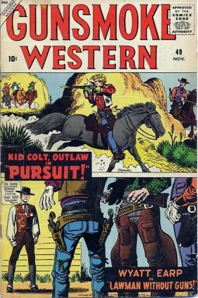 Gunsmoke Western #49 Comic Books - Covers, Scans, Photos  in Gunsmoke Western Comic Books - Covers, Scans, Gallery