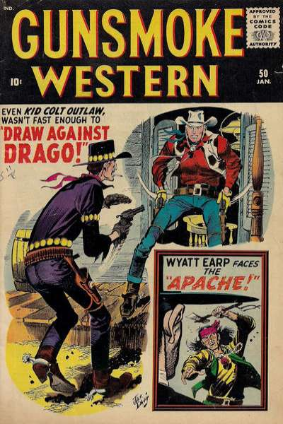 Gunsmoke Western #50 Comic Books - Covers, Scans, Photos  in Gunsmoke Western Comic Books - Covers, Scans, Gallery