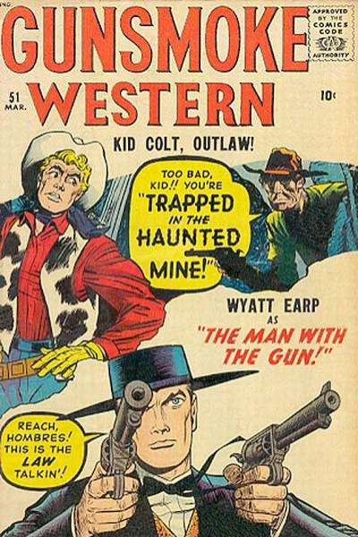 Gunsmoke Western #51 Comic Books - Covers, Scans, Photos  in Gunsmoke Western Comic Books - Covers, Scans, Gallery