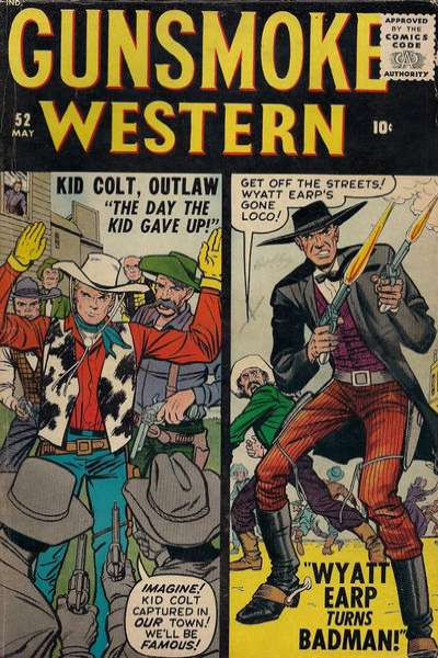 Gunsmoke Western #52 Comic Books - Covers, Scans, Photos  in Gunsmoke Western Comic Books - Covers, Scans, Gallery
