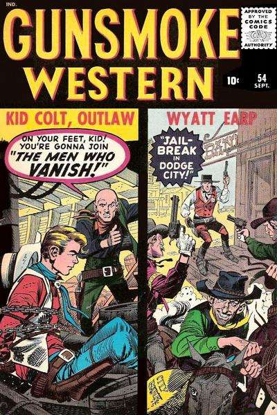 Gunsmoke Western #54 Comic Books - Covers, Scans, Photos  in Gunsmoke Western Comic Books - Covers, Scans, Gallery