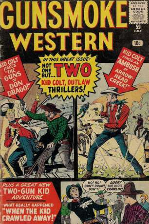 Gunsmoke Western #59 Comic Books - Covers, Scans, Photos  in Gunsmoke Western Comic Books - Covers, Scans, Gallery