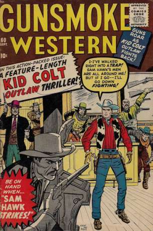 Gunsmoke Western #60 Comic Books - Covers, Scans, Photos  in Gunsmoke Western Comic Books - Covers, Scans, Gallery