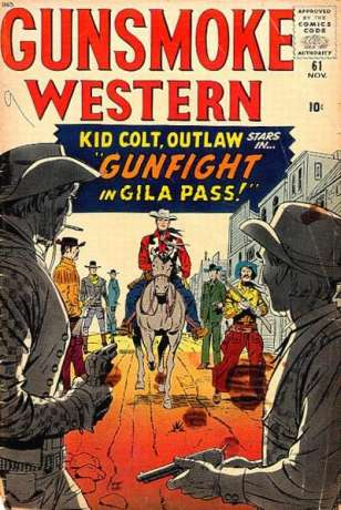 Gunsmoke Western #61 Comic Books - Covers, Scans, Photos  in Gunsmoke Western Comic Books - Covers, Scans, Gallery