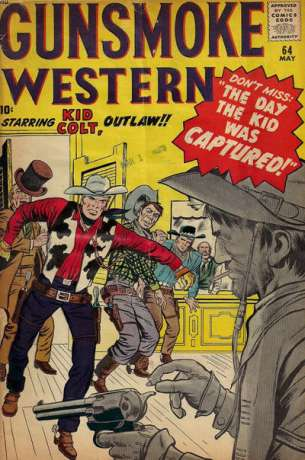Gunsmoke Western #64 Comic Books - Covers, Scans, Photos  in Gunsmoke Western Comic Books - Covers, Scans, Gallery