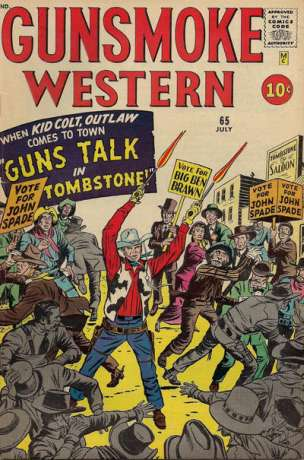 Gunsmoke Western #65 Comic Books - Covers, Scans, Photos  in Gunsmoke Western Comic Books - Covers, Scans, Gallery