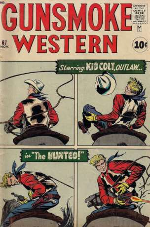 Gunsmoke Western #67 Comic Books - Covers, Scans, Photos  in Gunsmoke Western Comic Books - Covers, Scans, Gallery