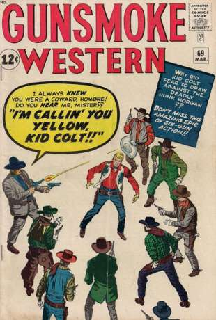 Gunsmoke Western #69 Comic Books - Covers, Scans, Photos  in Gunsmoke Western Comic Books - Covers, Scans, Gallery