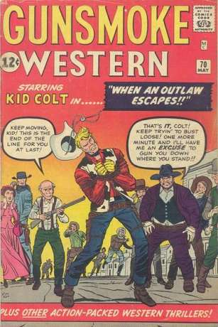 Gunsmoke Western #70 Comic Books - Covers, Scans, Photos  in Gunsmoke Western Comic Books - Covers, Scans, Gallery