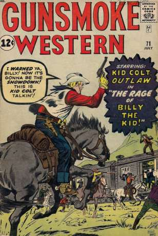 Gunsmoke Western #71 Comic Books - Covers, Scans, Photos  in Gunsmoke Western Comic Books - Covers, Scans, Gallery