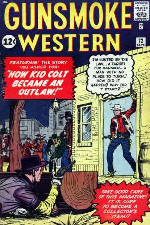 Gunsmoke Western #72 Comic Books - Covers, Scans, Photos  in Gunsmoke Western Comic Books - Covers, Scans, Gallery