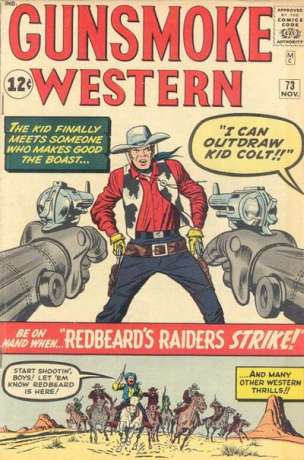 Gunsmoke Western #73 Comic Books - Covers, Scans, Photos  in Gunsmoke Western Comic Books - Covers, Scans, Gallery