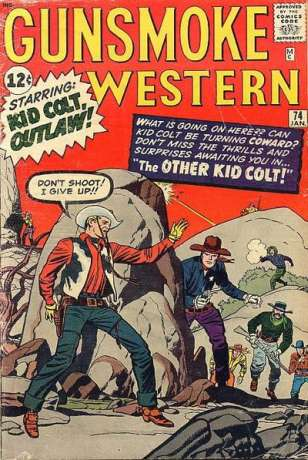 Gunsmoke Western #74 Comic Books - Covers, Scans, Photos  in Gunsmoke Western Comic Books - Covers, Scans, Gallery
