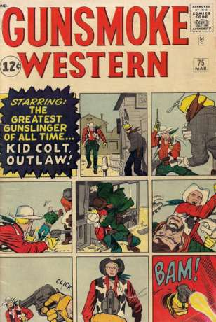 Gunsmoke Western #75 Comic Books - Covers, Scans, Photos  in Gunsmoke Western Comic Books - Covers, Scans, Gallery