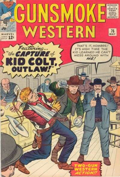 Gunsmoke Western #76 comic books for sale