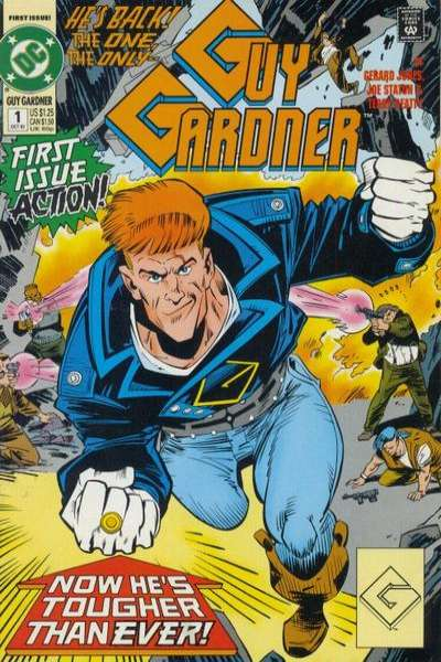 Guy Gardner comic books