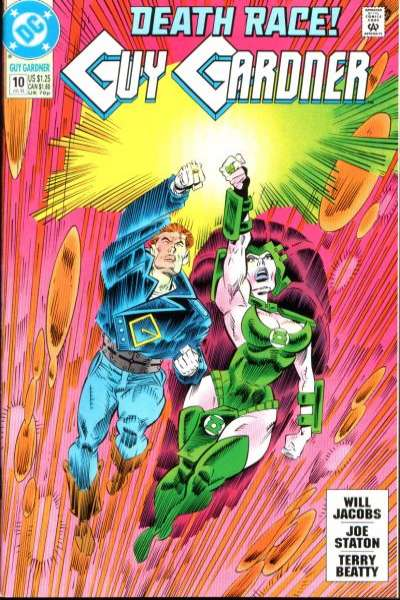 Guy Gardner #10 comic books for sale