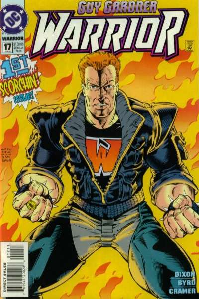 Guy Gardner #17 comic books for sale