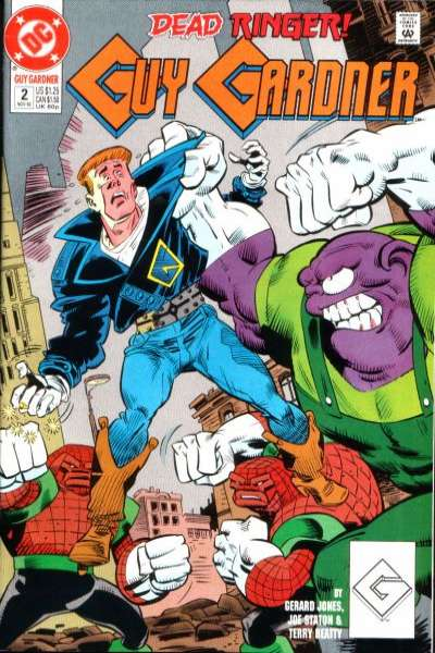 Guy Gardner #2 comic books for sale