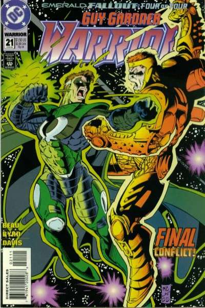 Guy Gardner #21 comic books for sale