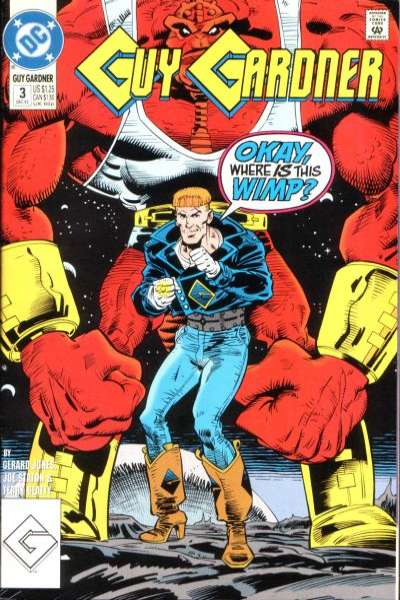 Guy Gardner #3 comic books for sale
