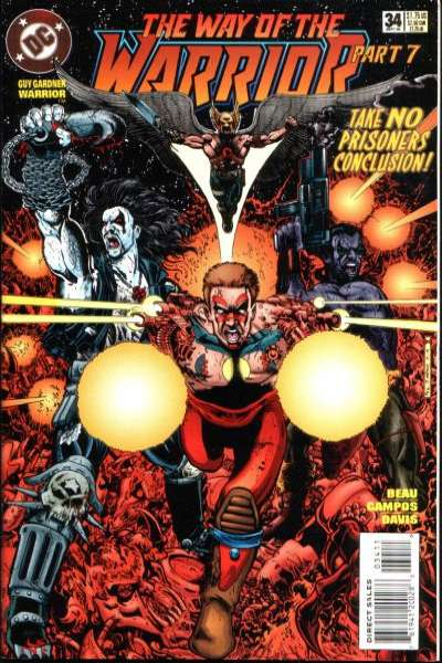 Guy Gardner #34 comic books for sale