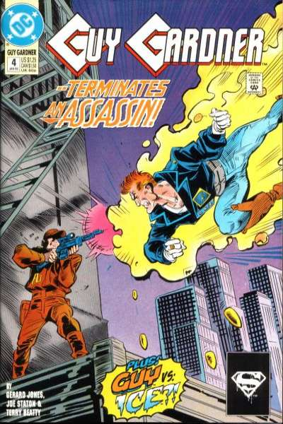 Guy Gardner #4 comic books for sale