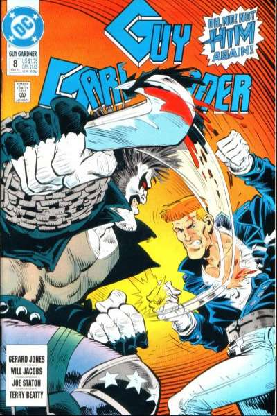 Guy Gardner #8 comic books for sale
