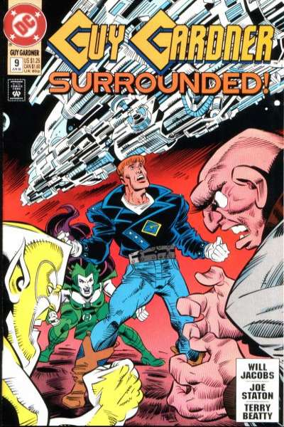 Guy Gardner #9 comic books for sale