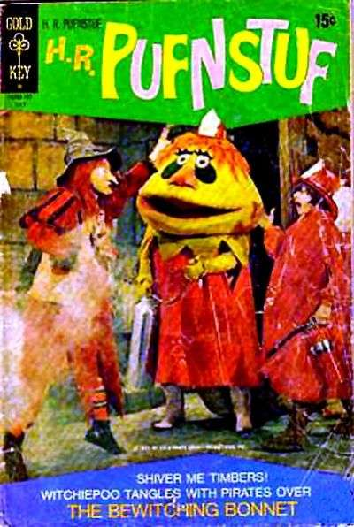 H.R. Pufnstuf #4 comic books for sale