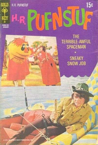 H.R. Pufnstuf #6 Comic Books - Covers, Scans, Photos  in H.R. Pufnstuf Comic Books - Covers, Scans, Gallery