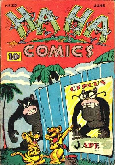 Ha Ha Comics #20 Comic Books - Covers, Scans, Photos  in Ha Ha Comics Comic Books - Covers, Scans, Gallery