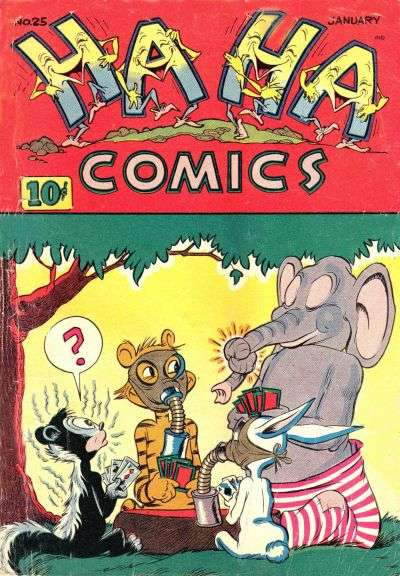 Ha Ha Comics #25 comic books for sale