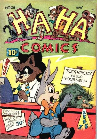 Ha Ha Comics #29 Comic Books - Covers, Scans, Photos  in Ha Ha Comics Comic Books - Covers, Scans, Gallery