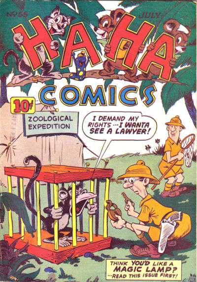 Ha Ha Comics #55 comic books for sale
